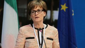 Mairead McGuinness is the first vice president of the European Parliament (Niall Carson/PA)
