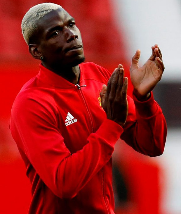 Paul Pogba made his 'second' debut for Manchester United last night after his high-profile return to Old Trafford Photo: Reuters / Darren Staples