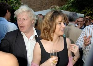 Johnson's second marriage was marred by his affair with Petronella Wyatt