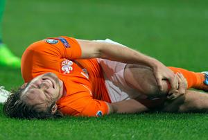 Daley Blind's injury is not as serious as first feared. REUTERS/Paul Vreeker/United Photos