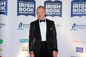 Graham Norton at the Bord Gais Energy Irish Book Awards at the Double Tree by Hilton Hotel in Dublin. Picture: Arthur Carron