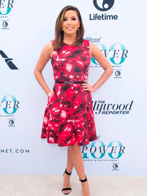 Actress Eva Longoria attends the Hollywood Reporter's 25th Annual Women In Entertainment Breakfast