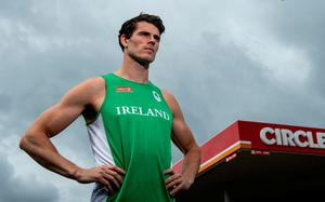 CARRYING ON: Ireland rower Philip Doyle supporting Circle K's 'Little Thank Yous' initiative. Photo: Ramsey Cardy/Sportsfile