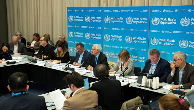 A news conference following the second meeting of the International Health Regulations (IHR) Emergency Committee for Pneumonia due to the Novel Coronavirus 2019-nCoV in Geneva, Switzerland January 23, 2020. Christopher Black/WHO