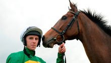 Mark Walsh will be in the JP McManus colours when he rides Yanworth today at Cheltenham. Photo: Sportsfile