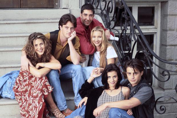 The cast of Friends in 1994