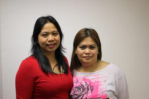 Laylanie Loparga and Jennifer Loparga. The domestic workers were awarded €240,000 by Employment Appeals Tribunal against the Ambassador of the United Arab Emirates for breaches of employment rights.