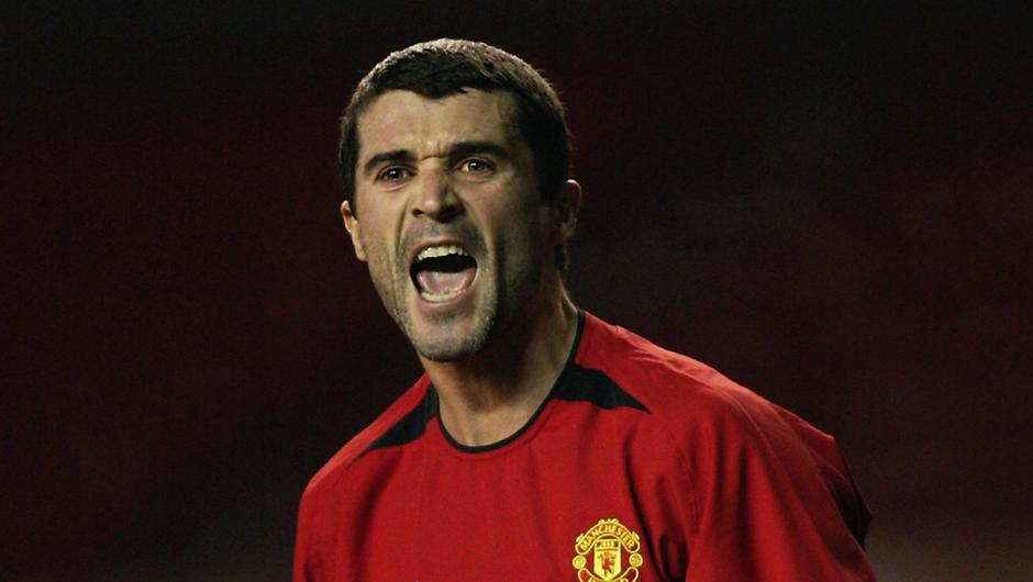 Roy Keane was an inspirational leader for Manchester United. Photo: Michael Steele/Getty Images