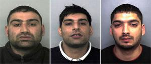 Akhtar Dogar, Anjum Dogar and Kamar Jamil who were found guilty of a catalogue of charges involving vulnerable underage girls who were groomed for sexual exploitation.