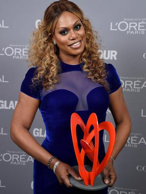 Laverne Cox attends the Glamour 2014 Women Of The Year Awards at Carnegie Hall