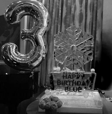 Beyonce shared this snap of Blue Ivy's third birthday party