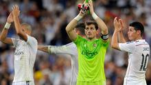 Real Madrid captain Iker Casillas believes his side can 'make history' this season. Photo: Denis Doyle/Getty Images