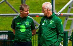 Mick McCarthy and Stephen Kenny