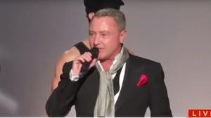 Michael Flatley introduces Lord of the Dance during Trump's inauguration