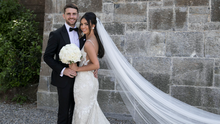 Robbie Brady and Kerrie Harris tie the knot | Photo for THEVOW.ie with thanks to Jenny McCarthy, photosbyjen.com