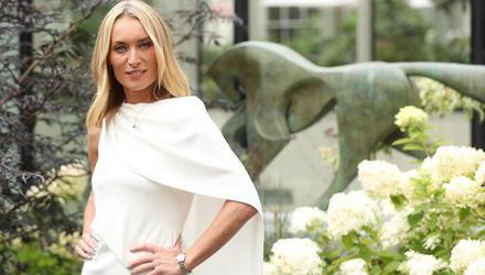 Actress Victoria Smurfit launching the Longines Irish Champions Weekend 2019 at the Merrion Hotel. Picture: Robbie Reynolds