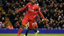 Liverpool are hoping that Daniel Sturridge will make a swifter recovery from his latest injury setback than has been suggested. Photo: PAUL ELLIS/AFP/Getty Images