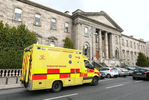 Dublin Fire Brigade is run by Dublin City Council while the National Ambulance Service, which caters for the rest of the country, is part of the HSE. Picture: Damien Eagers