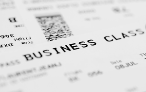 Just the ticket: Business Class. Photo: Deposit