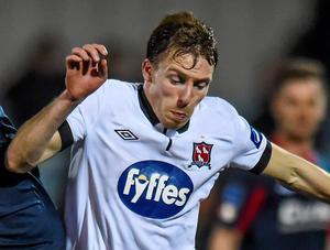 Aaron Greene struck twice for St Pat's to give them victory over Limerick FC