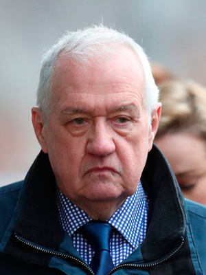 In court: David Duckenfield is being tried for manslaughter. Photo: Reuters
