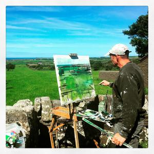 Artist Andrew Wykes capturing the Wild Atlantic Way