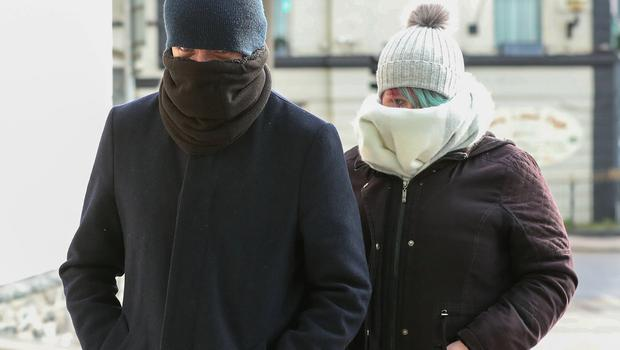Left to right: Keith Johnston and Stephanie O'Connor, who are accused of impeding the murder investigation. Photo: Collins Courts