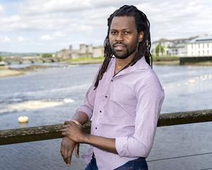 Campaigning: Bulelani Mfaco, a spokesman for the Movement of Asylum Seekers Ireland, recalled the chaos in one direct provision centre on Christmas Eve 2018. PHOTO: DON MOLONEY