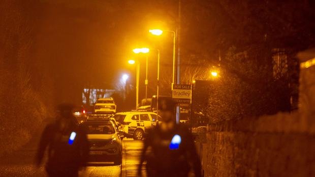 Scene of shooting on Lower Dromore Road Warrenpoint .  Photo: Newraypics.com