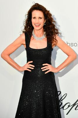 US actress Andie MacDowell