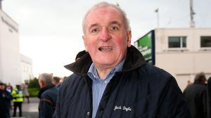 Hight office: Former Taoiseach Bertie Ahern's hopes of running for president could be over. Photo: Frank Mc Grath
