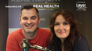 Ciara Kelly on the Real Health podcast