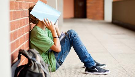 Hard times: Many students have failed to land their first-choice course, but it is important that they don't let it dominate their emotions. Photo posed