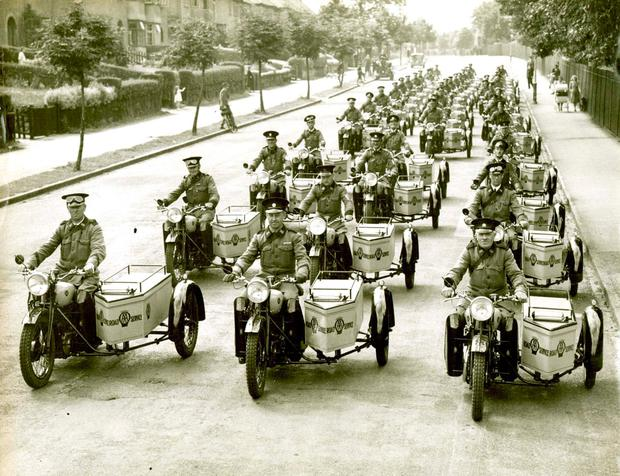 The AA was set up in Britain in 1905 to combat unfair police speed traps and fight for the interests of motorists. Photo: PA