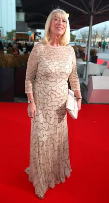 Ann Doyle arrive at the VIP Style Awards. Pic: Damien Eagers