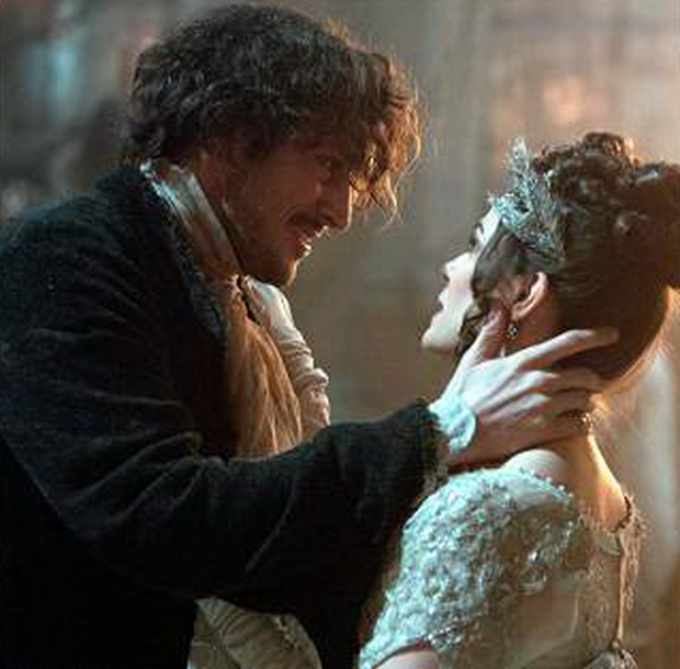 Bertie Carvel as Jonathan Strange and Charlotte Riley as wife Arabella in the BBC1 series