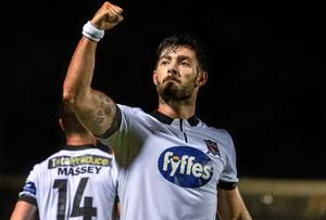 Richie Towell insists he is trying to focus on his goals with Dundalk rather than obsessing over his next career move. Photo: David Maher / SPORTSFILE