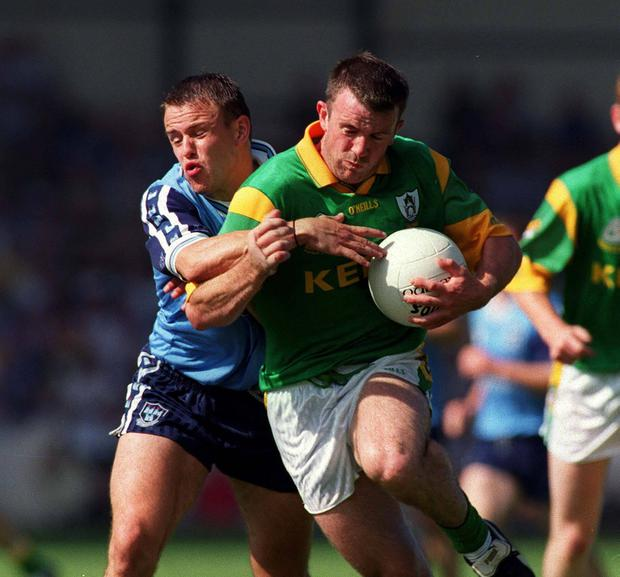 Keith Galvin was a natural wing back when Dublin manager Pat O'Neill moved him into corner back in 1995. Picture credit; Brendan Moran/SPORTSFILE