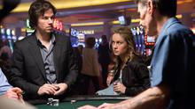 Left to right: Mark Wahlberg plays Jim Bennett and Brie Larson plays Amy in THE GAMBLER, from Paramount Pictures.