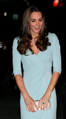 Duchess of Cambridge arrives at the Natural History Museum in London. REUTERS/Stefan Wermuth
