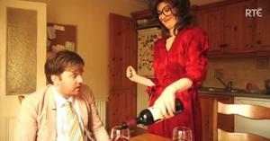 Bridget and Eamon in one of their Republic of Telly sketches
