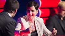 Dolores O'Riordan during the Semi Finals of The Voice of Ireland in The Helix in 2014