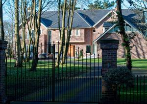The house in County Durham of suspended Sunderland player Adam Johnson