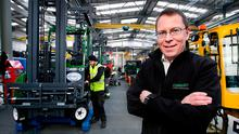 Martin McVicar, managing director of Combilift, at the company's plant in Monaghan. Photo: Steve Humphreys