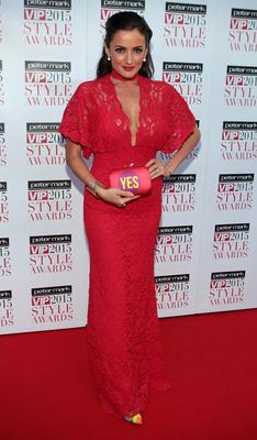 Virigina Macari on the Red Carpet at The Peter Mark VIP Style Awards 2015 at The Marker Hotel,Dublin. Brian McEvoy