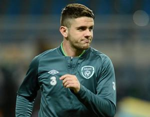 Republic of Ireland's Robbie Brady David Maher / SPORTSFILE...ABC