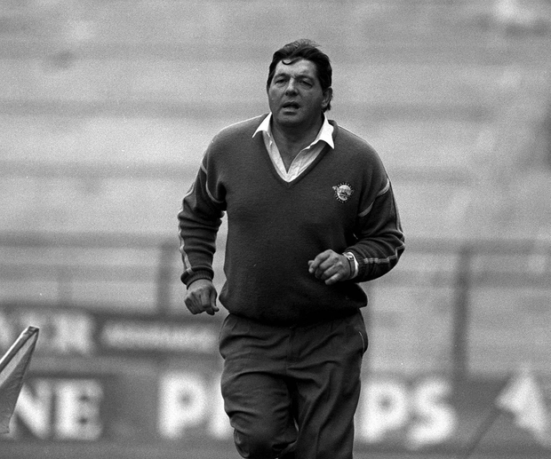 Babs Keating on the sidelines in 1989. Picture credit; Ray McManus/Sportsfile