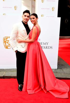 Louis Smith and Lucy Mecklenburgh  arrive for the House of Fraser British Academy of Television Awards at the Theatre Royal, Drury Lane in London. Photo: Ian West/PA Wire