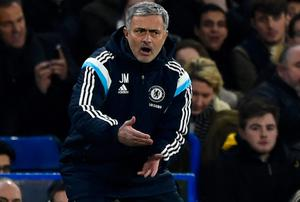 Jose Mourinho railed against Diego Costa's critics after Chelsea's victory over Liverpool in the Capital One Cup semi-final. Photo: Mike Hewitt/Getty Images