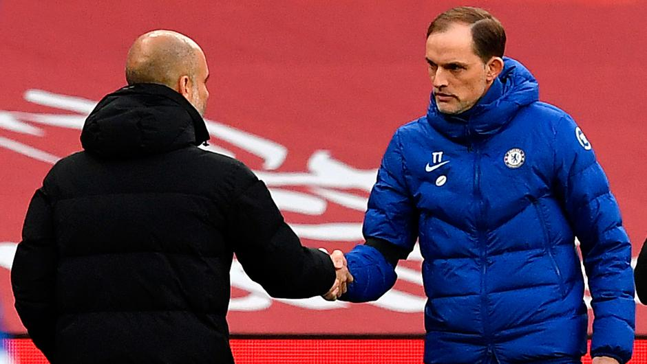 Manchester City manager Pep Guardiola will pit his wits against Chelseas Thomas Tuchel in the Champions League final on Saturday.  Photo credit: Ben Stansall/PA Wire